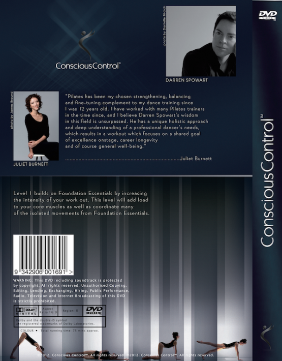 2 Conscious Control Level 1 Pilates