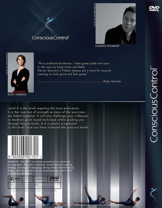 5 Conscious Control Level 4  Pilates
